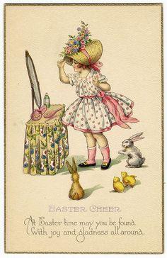 Vintage easter basket clipart png transparent Antique Images: Easter Clip Art: Vintage Easter Basket Victorian ... png transparent