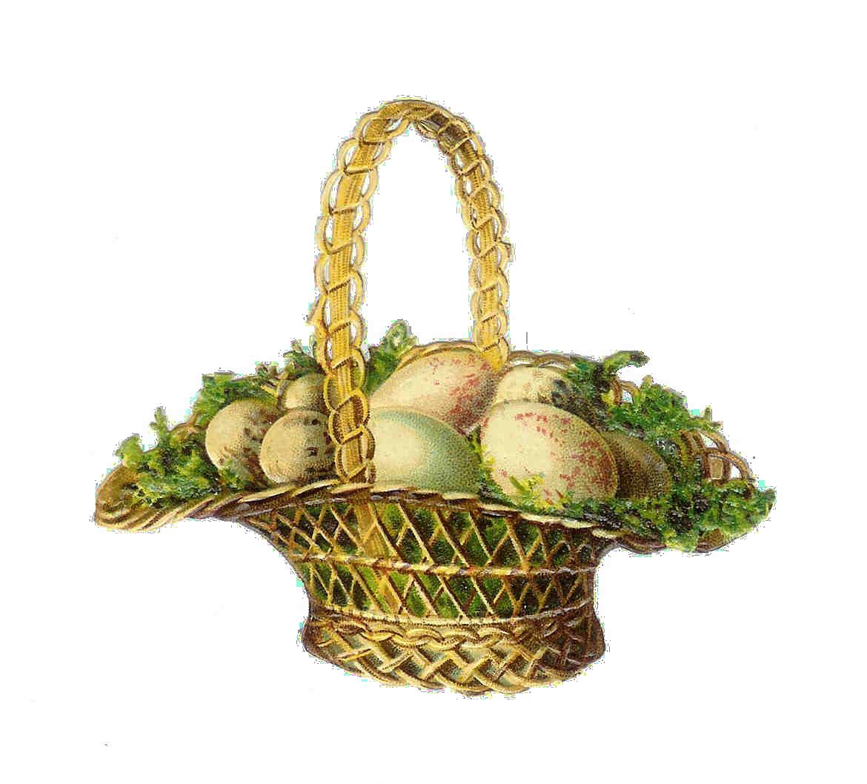 Vintage easter basket clipart royalty free library Vintage easter basket clipart - ClipartFest royalty free library