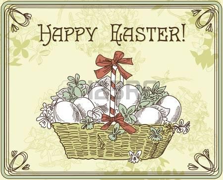 Vintage easter basket clipart clip art royalty free 13,656 Easter Basket Cliparts, Stock Vector And Royalty Free ... clip art royalty free