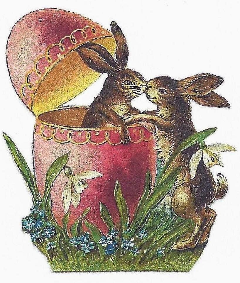 Vintage easter egg images clipart svg free download Jennuine by Rook No. 17*: Free Vintage Easter Graphics, Clipart ... svg free download