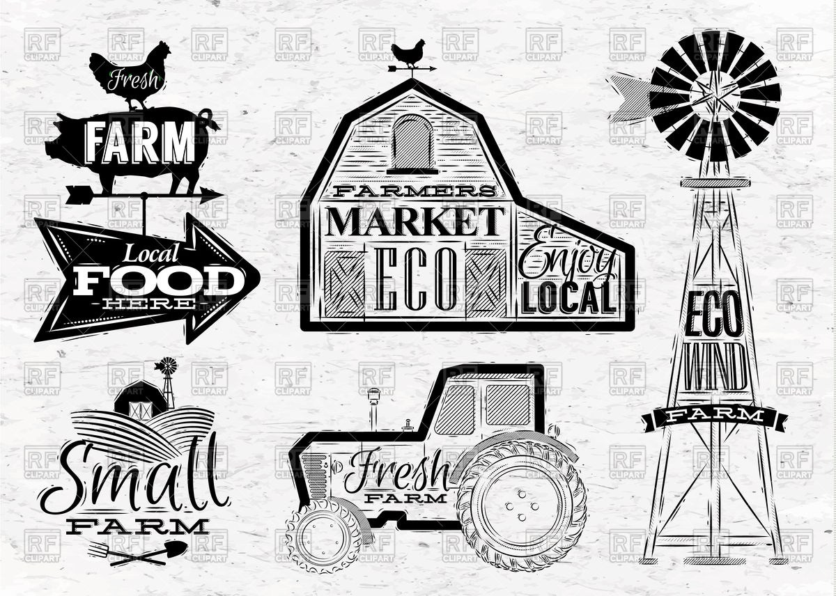 Vintage farmhouse clipart clip royalty free stock Vintage barn clipart 7 » Clipart Portal clip royalty free stock