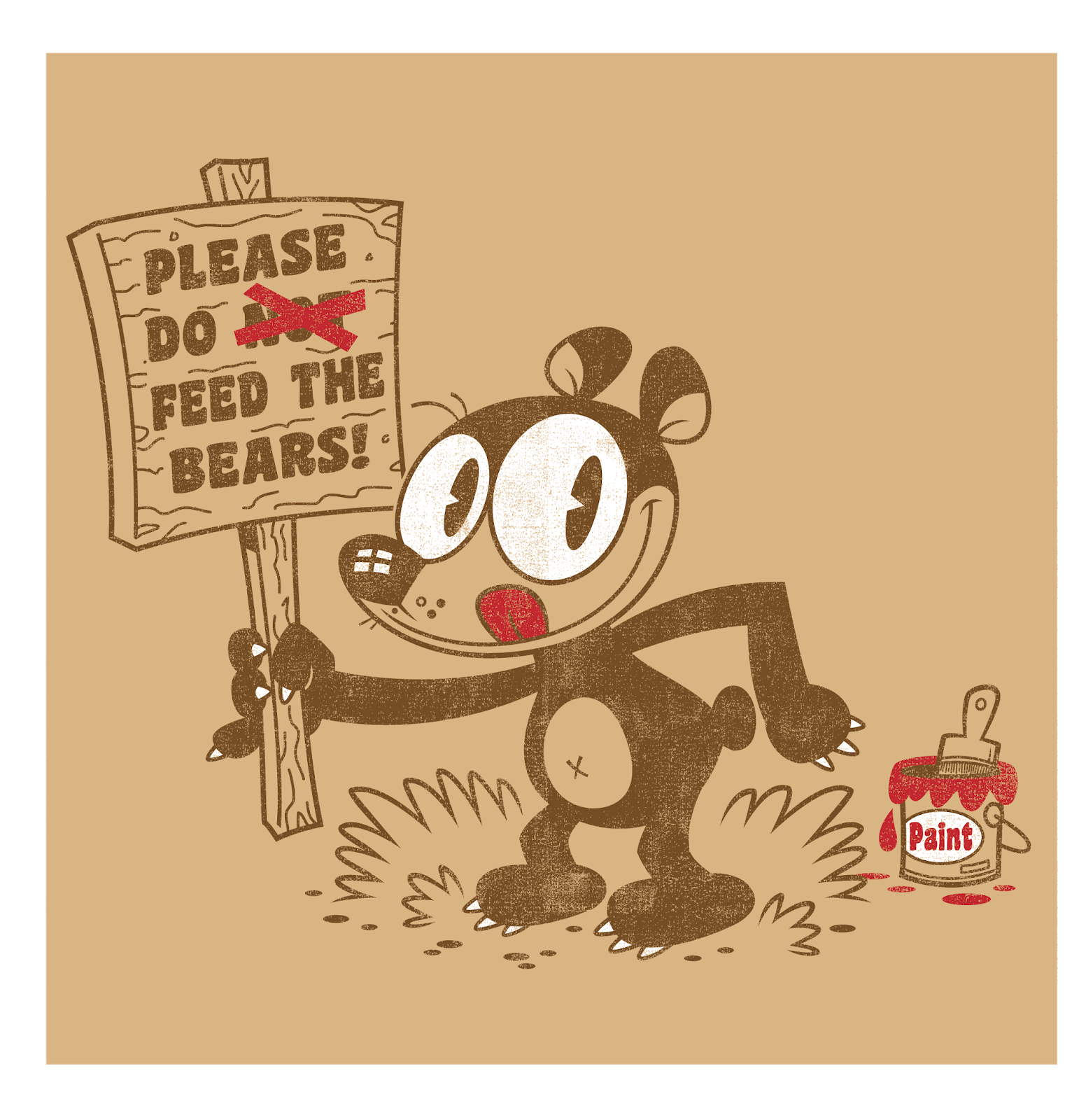 Vintage feeding hungry clipart png royalty free stock Gary Fields Studios blog: hungry \