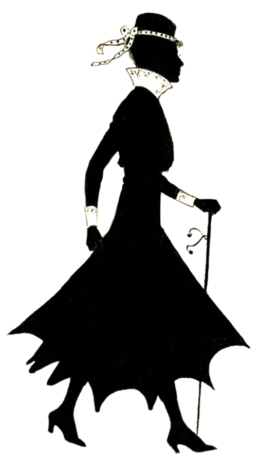 Vintage female silhouette clipart picture royalty free download Female Silhouette picture royalty free download