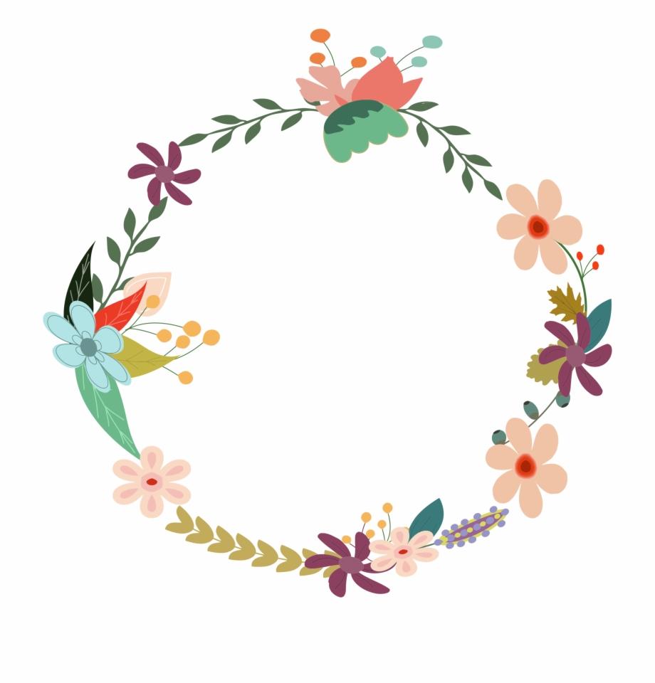 Vintage floral clipart free image download Vintage Floral Wreath By - Vector Floral Vintage Png ... image download