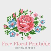 Vintage floral images free black and white download Free vintage flower clip art - ClipartFest black and white download