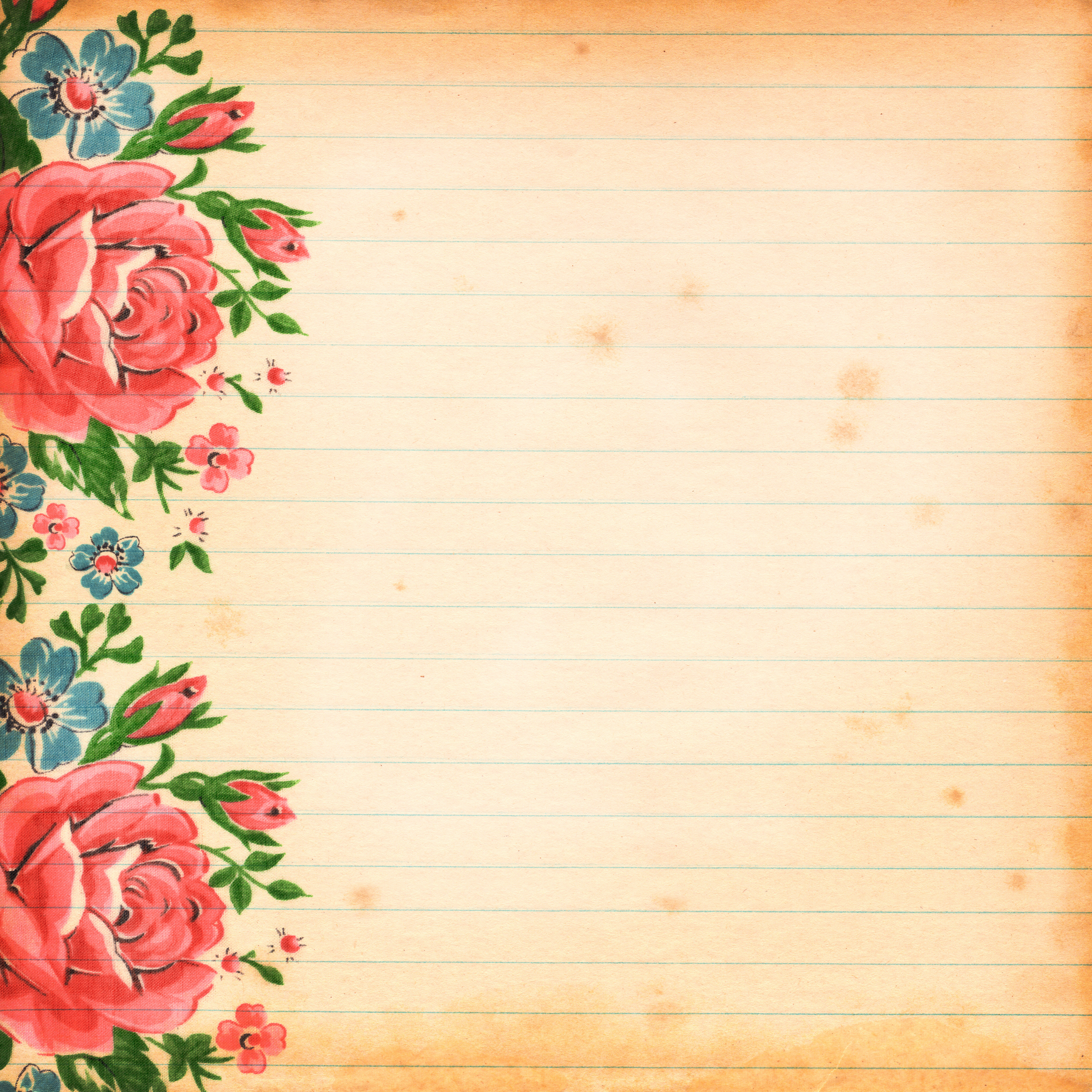 Library Of Vintage Floral Images Free Png Files Clipart Art