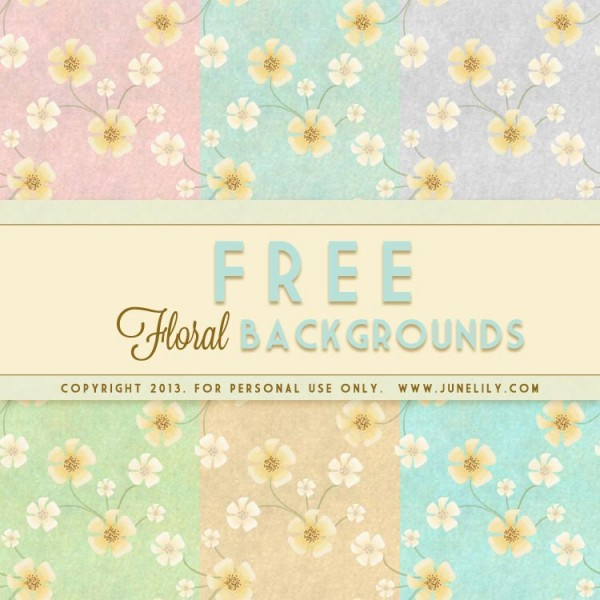 Vintage floral images free banner free download FREE Vintage Floral Backgrounds Inspired by Vincent Van Gogh ... banner free download