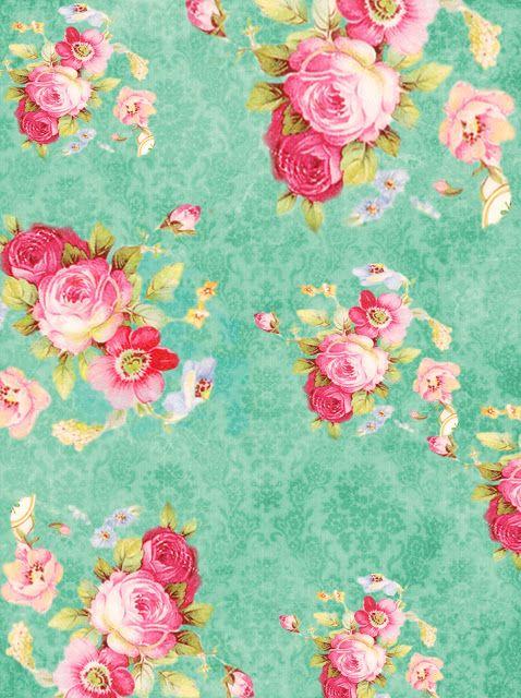 Vintage floral images free clip freeuse stock Free vintage floral digital paper from @allnashdup   Floral Design ... clip freeuse stock