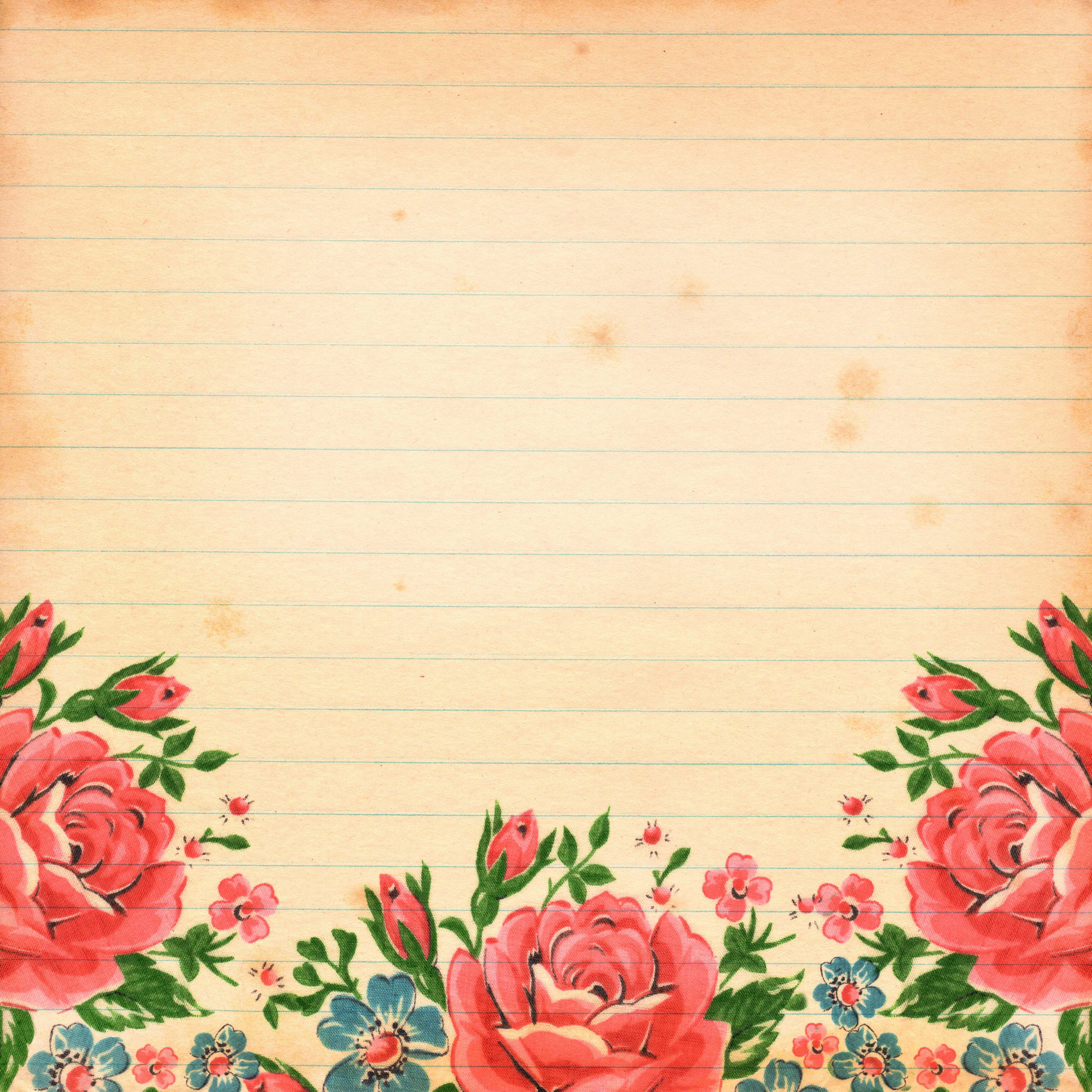 Vintage floral images free svg freeuse stock Free Digital Scrapbook Paper: Commercial Use OK - Free Pretty ... svg freeuse stock