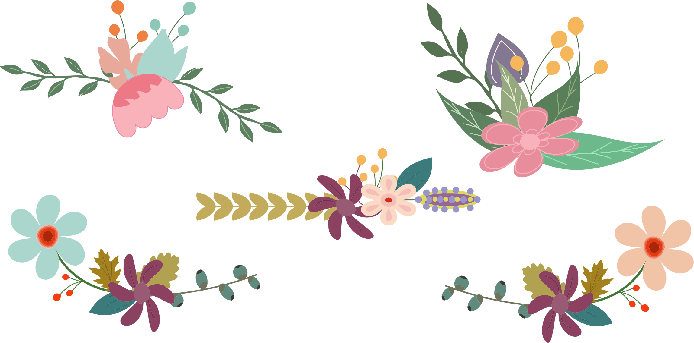 Floral images clipart graphic transparent library Vintage flower clipart png - ClipartFest graphic transparent library