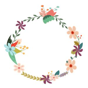 Vintage flower clipart png png free library Vintage Floral Wreath clipart, cliparts of Vintage Floral Wreath ... png free library