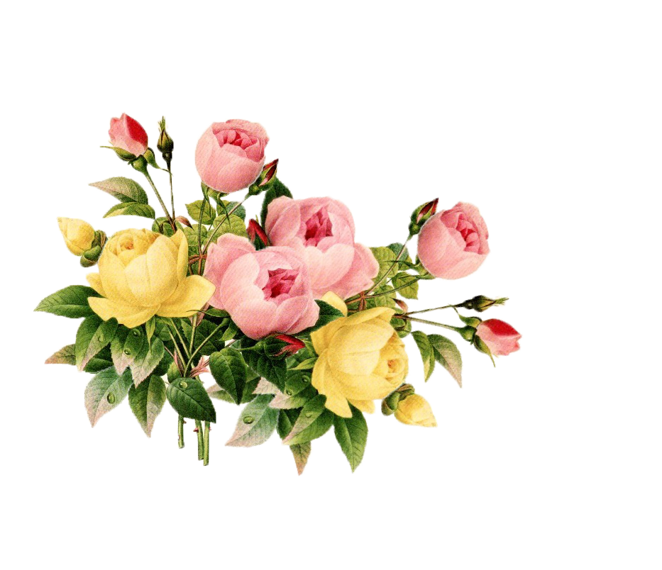Vintage flower clipart png png library library Vintage Flower Clipart - Clipart Kid png library library