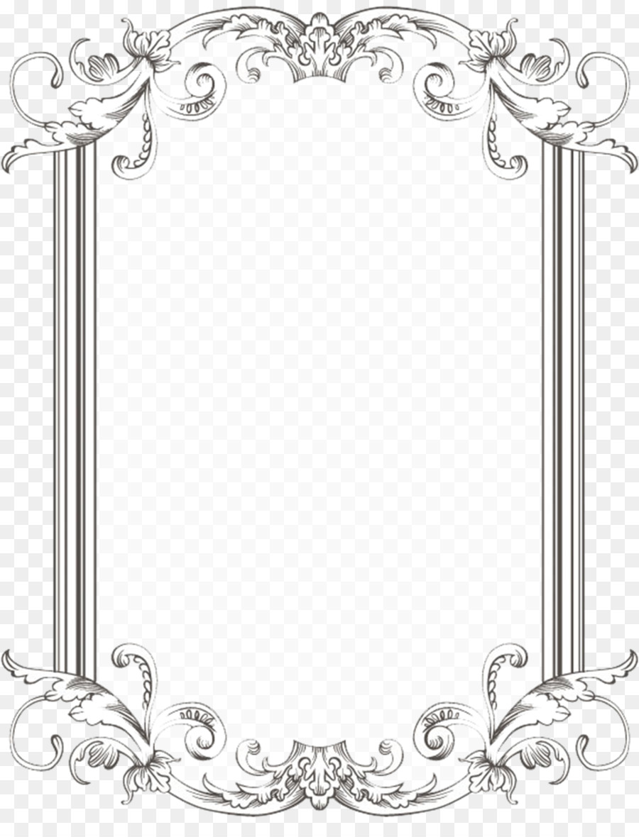 Vintage frames rectangle clipart freeuse stock Black And White Frame clipart - Rectangle, Border, Circle ... freeuse stock