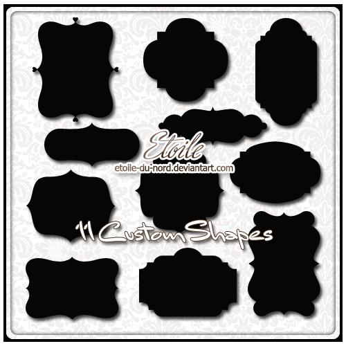 Vintage frames shape clipart png transparent download Black And White Frame clipart - Shape, Black, Silhouette ... png transparent download