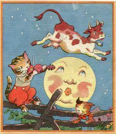 Vintage german nursery rhyme clipart picture royalty free download 233 Best vintage nursery rhyme illustrations images in 2018 ... picture royalty free download