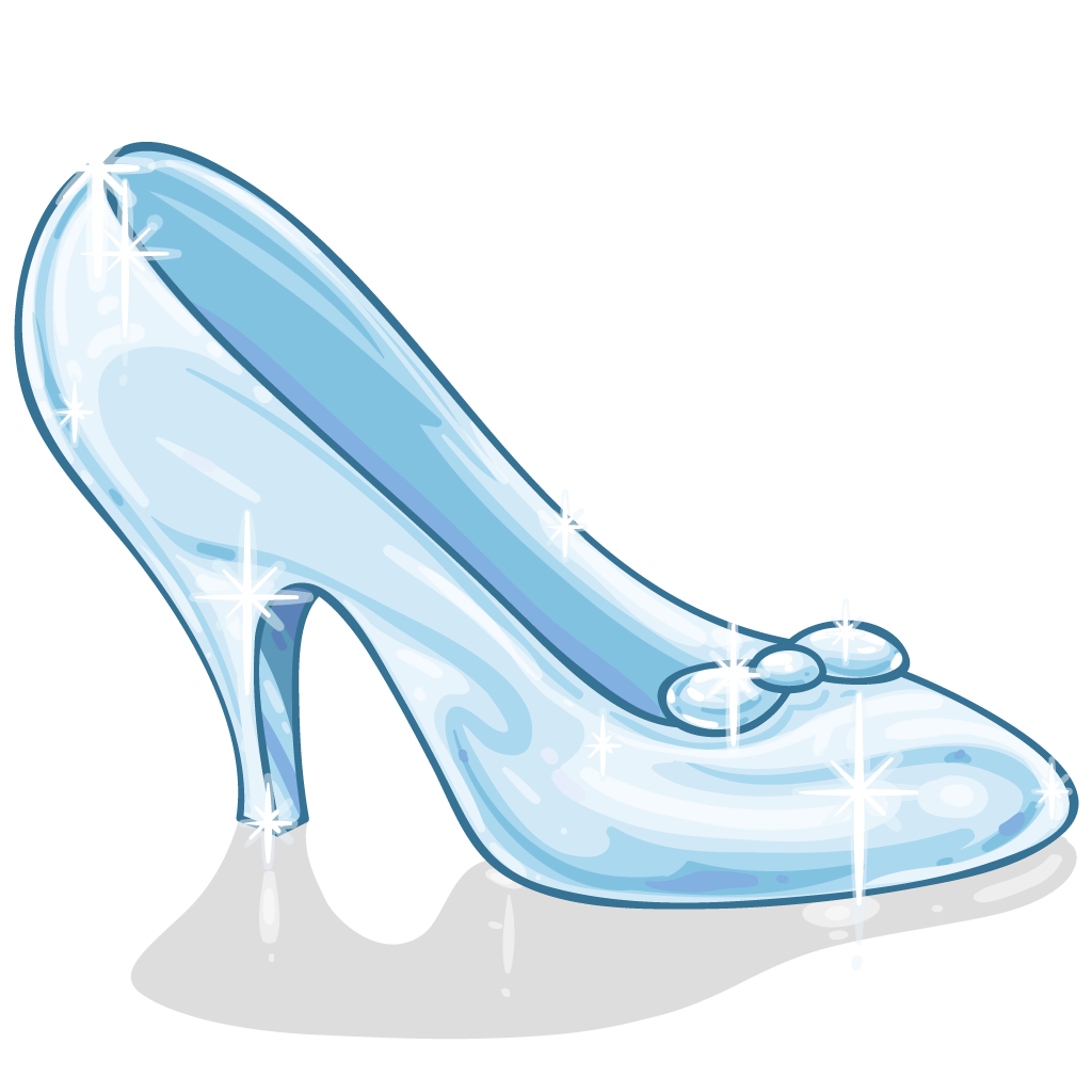 Vintage glass slipper clipart black and white banner royalty free library Cinderella Slipper Shoe Clip art - Cinderella Slipper Png ... banner royalty free library