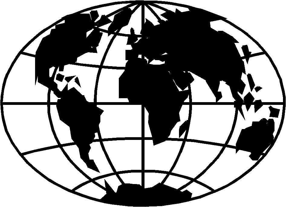 Vintage globe map black and white clipart svg transparent Globe black and white free globe clipart clip art images and ... svg transparent