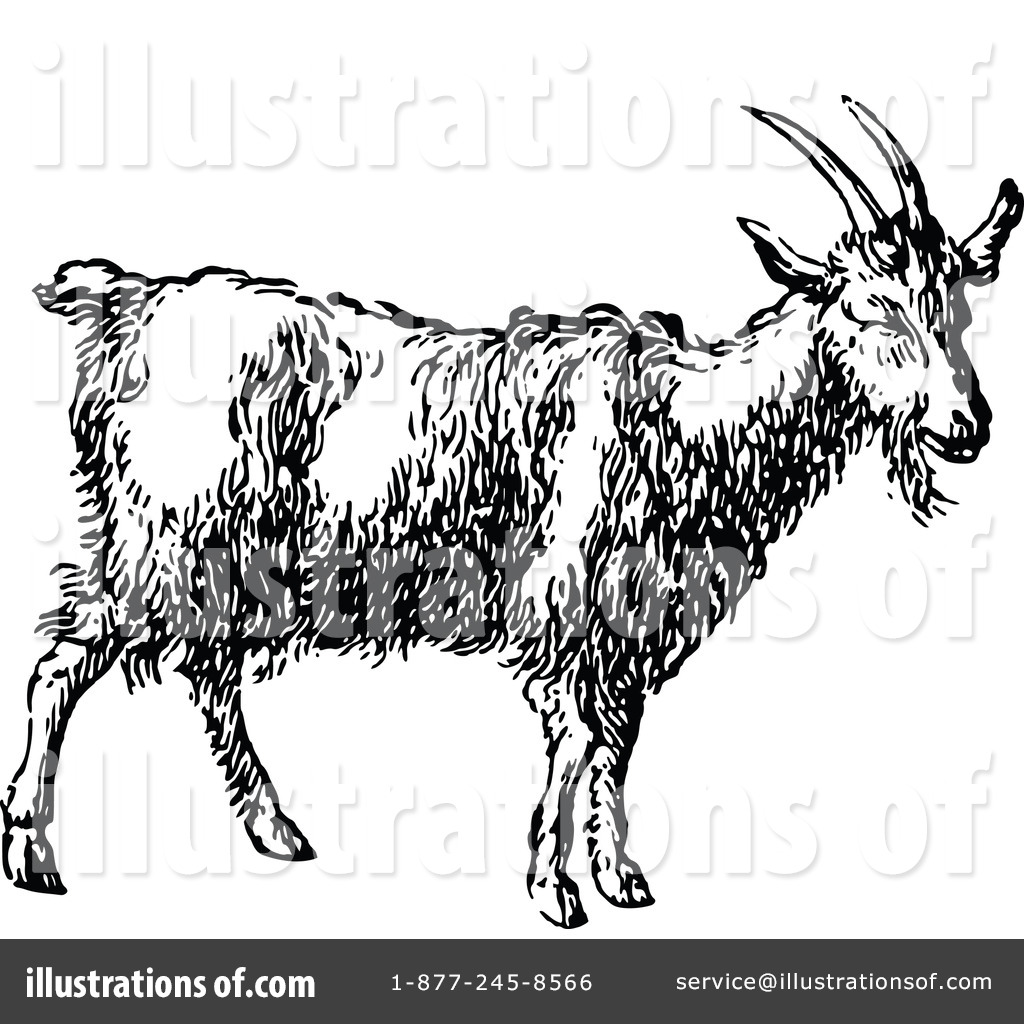 Vintage goat clipart graphic library stock Goat Clipart #1119588 - Illustration by Prawny Vintage graphic library stock