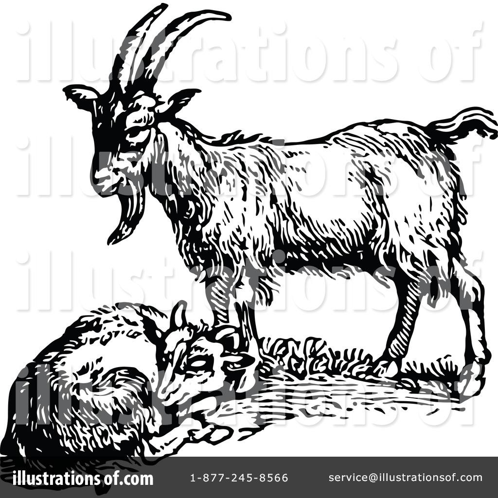 Vintage goat clipart clip art free download Goat Clipart #1145851 - Illustration by Prawny Vintage clip art free download