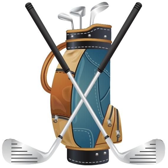 Vintage golf club clipart svg free stock Free Golf Clipart | Images Sports | Golf bags, Golf clip art ... svg free stock