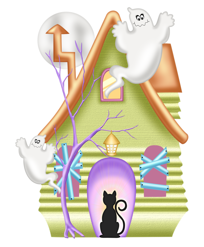 Vintage haunted house halloween clipart black and white png black and white PPS_B13.png | Haunted houses, Clip art and Halloween clipart png black and white