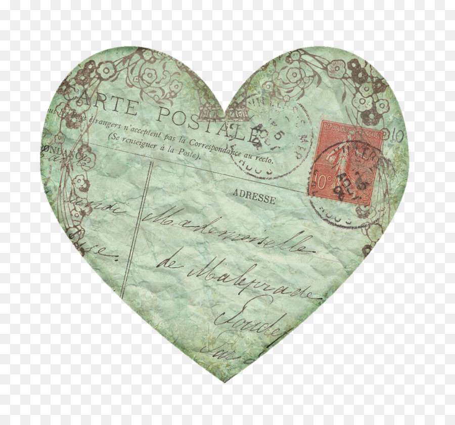 Vintage heart clipart images png royalty free library Valentines Day Heart clipart - Paper, Vintage, Drawing ... png royalty free library