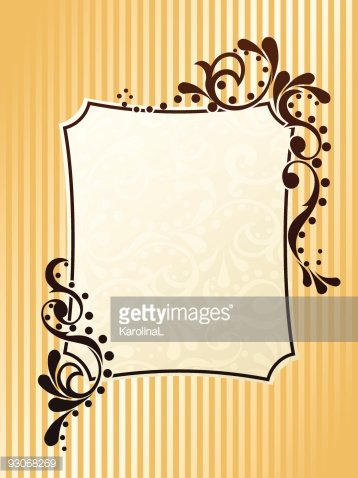 Vintage image sepia clipart picture download Rectangular Vintage Sepia Frame premium clipart ... picture download