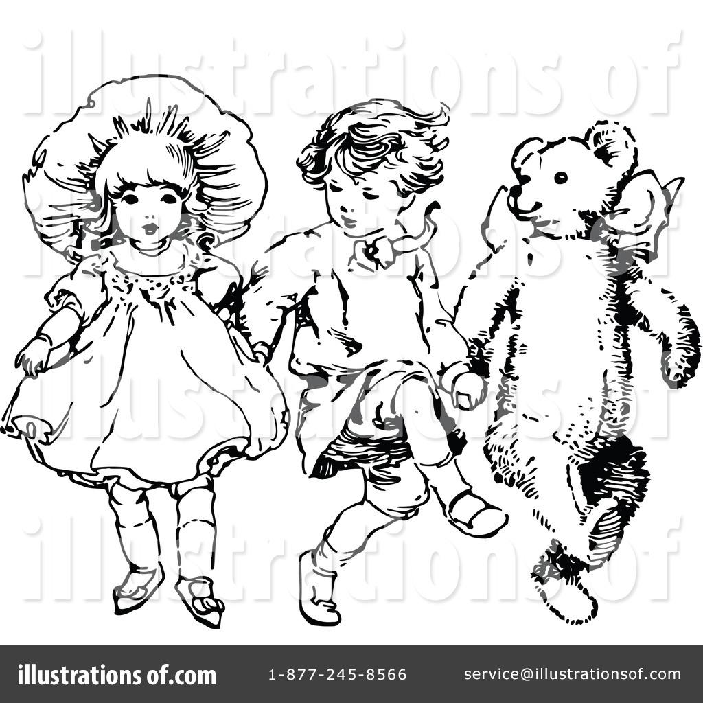 Vintage kids clipart vector transparent Children Clipart #1116062 - Illustration by Prawny Vintage vector transparent