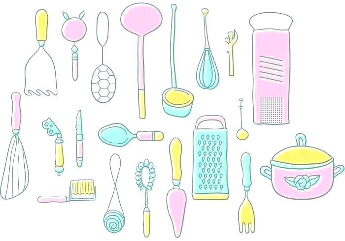 Vintage kitchen border clipart free kitchen utensils border clipart – poltexpert.org free