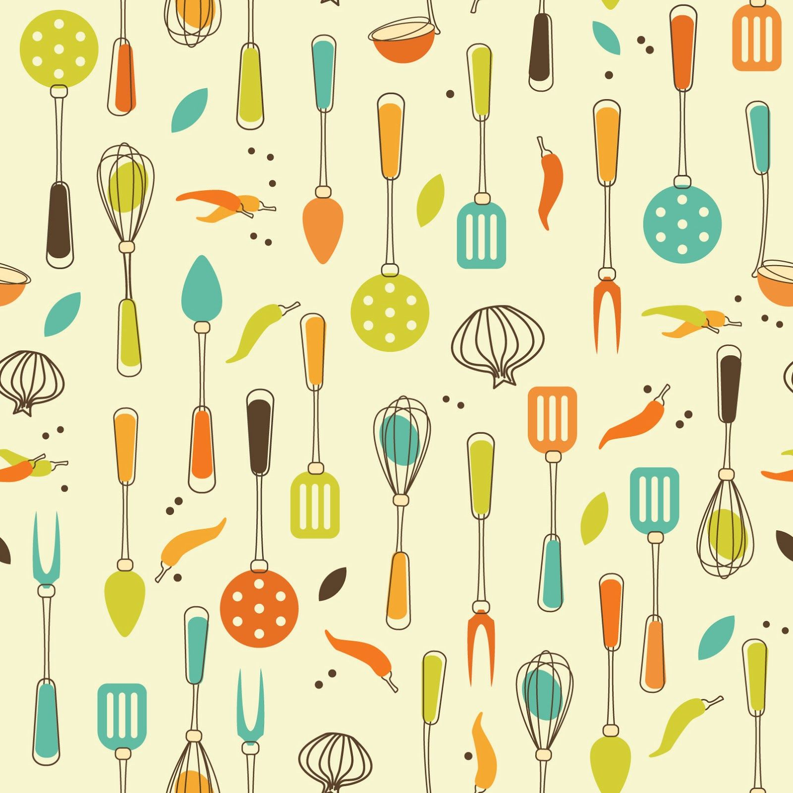 Vintage kitchen clipart yellow clip art freeuse Pin by Jason Alfonso on CF - Patterns | Kitchen wallpaper ... clip art freeuse