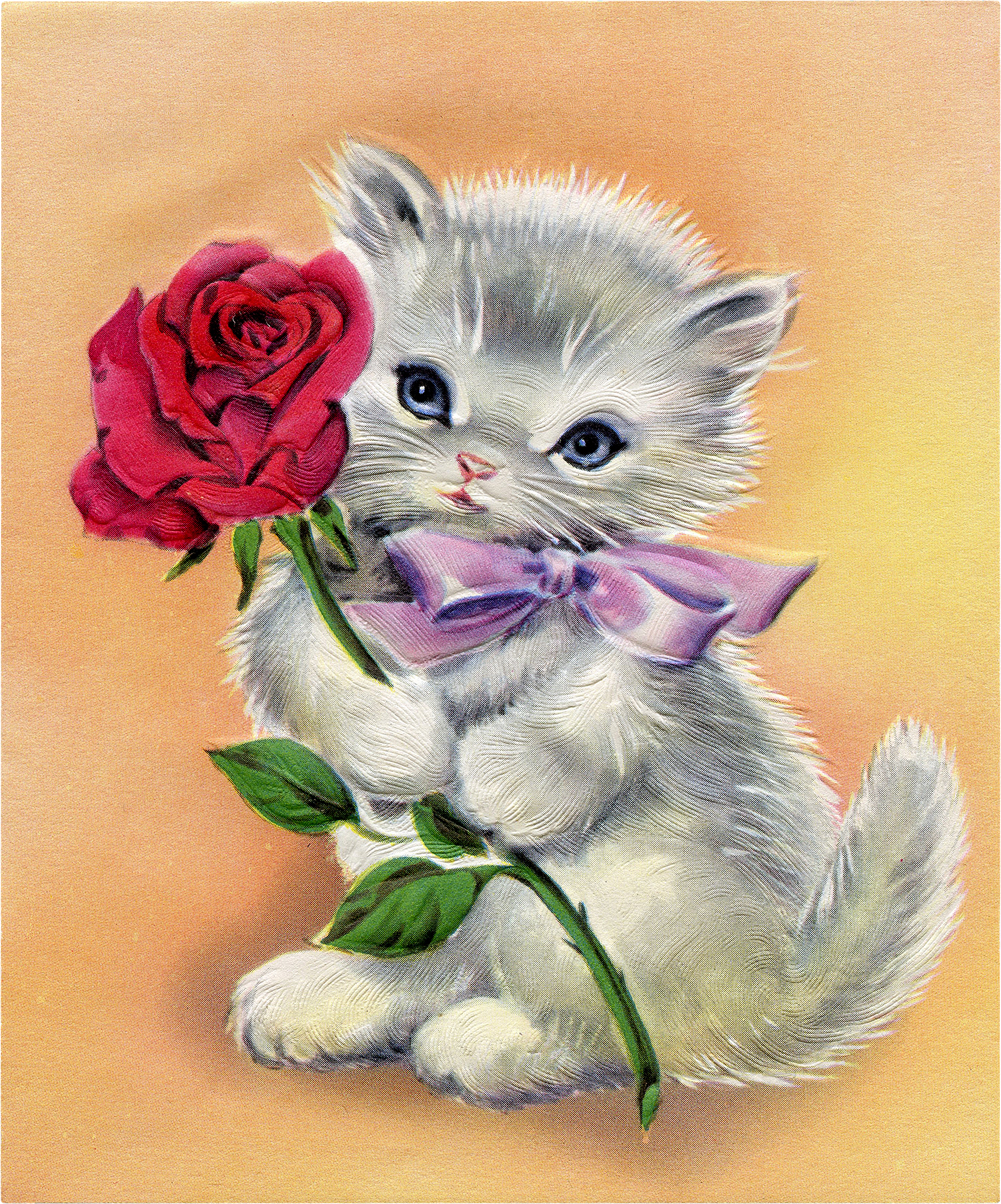 Vintage kitten clipart vector 12 Beautiful Vintage Kitten and Cat Pictures! - The Graphics ... vector