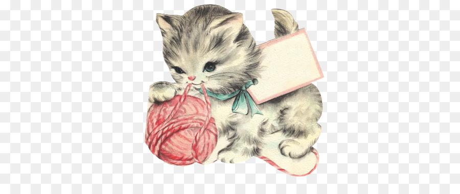 Vintage kitten clipart clip art transparent library Cats Cartoon clipart - Kitten, Cat, Illustration ... clip art transparent library