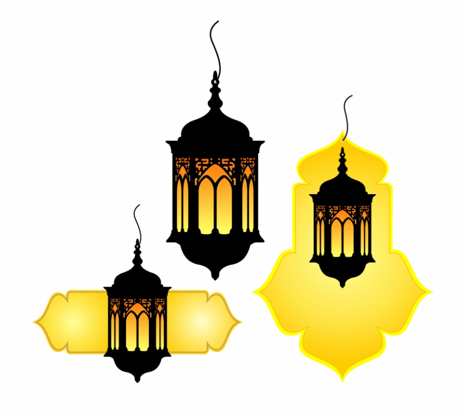 Vintage lantern free clipart clip art black and white download Quran Vintage Muslim Lamp Vector Islam Hand-painted ... clip art black and white download