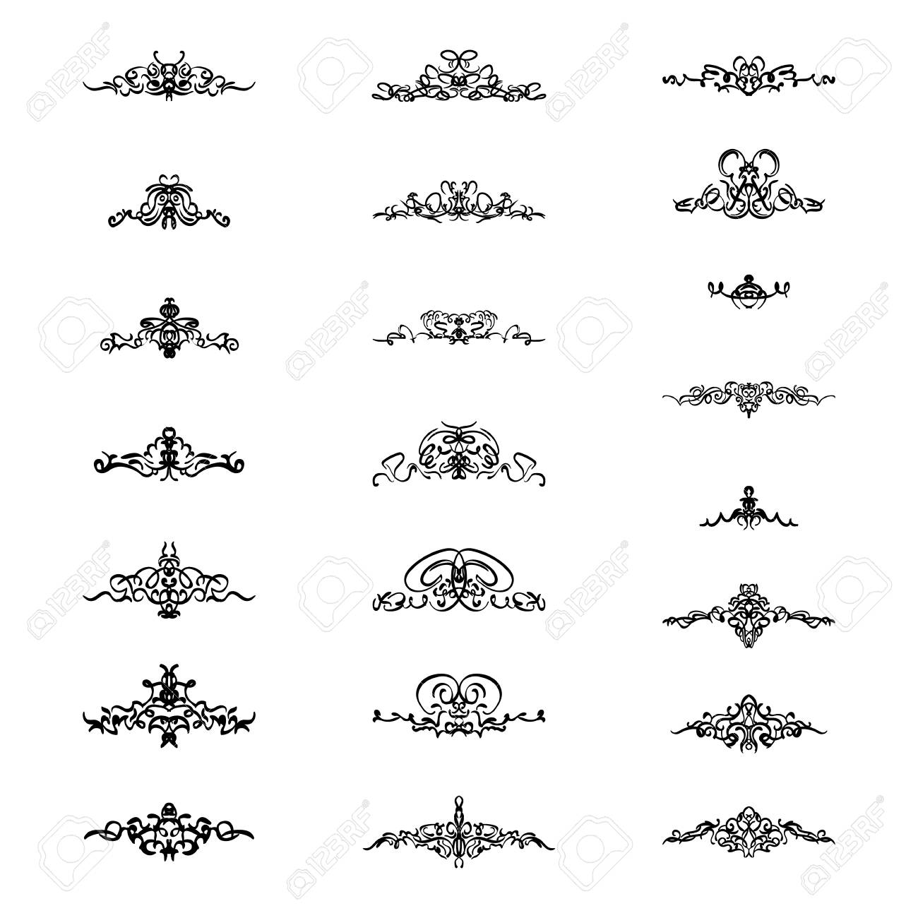 Vintage lines clipart clipart freeuse stock Vintage Lines Cliparts - Making-The-Web.com clipart freeuse stock