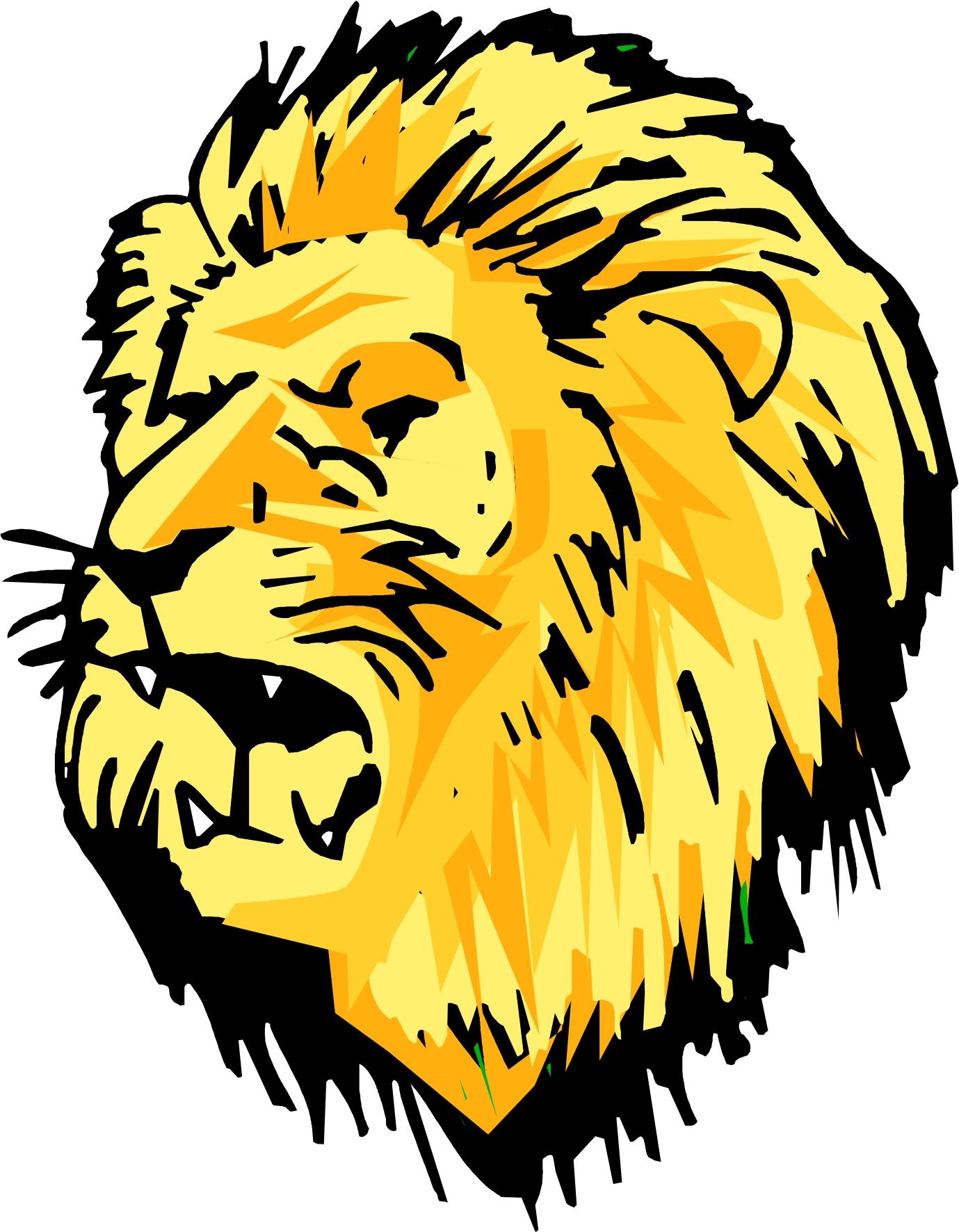 Vintage lion head clipart image Free Lion Head Clipart, Download Free Clip Art, Free Clip ... image