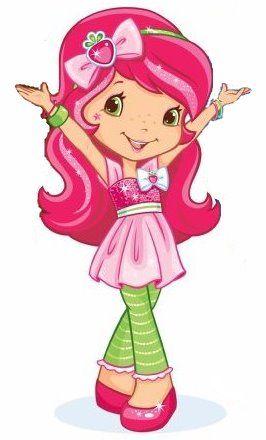 Vintage little girls clipart pink & orange svg transparent Strawberry Shortcake\'s Berry Bitty Adventures ... svg transparent