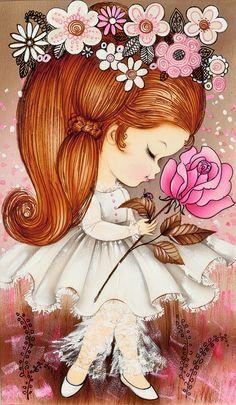 Vintage little girls clipart pink & orange vector 1440 Best Vintage images in 2019 | Vintage children, Vintage ... vector