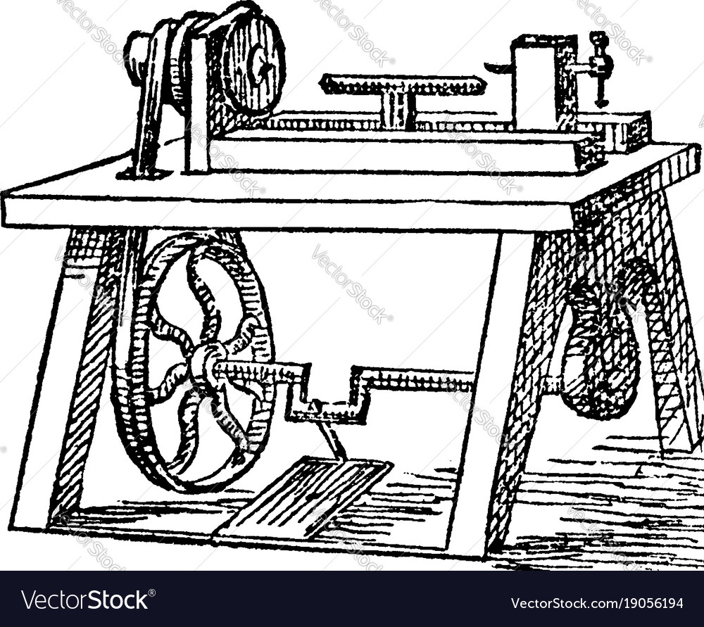 Vintage machinist tools clipart image royalty free download Lathe vintage image royalty free download