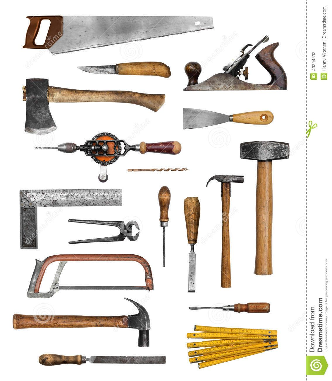 Vintage makers mark hand and chisel clipart clip library library Old Carpenter Hand Tools | Carpenter tools in 2019 ... clip library library