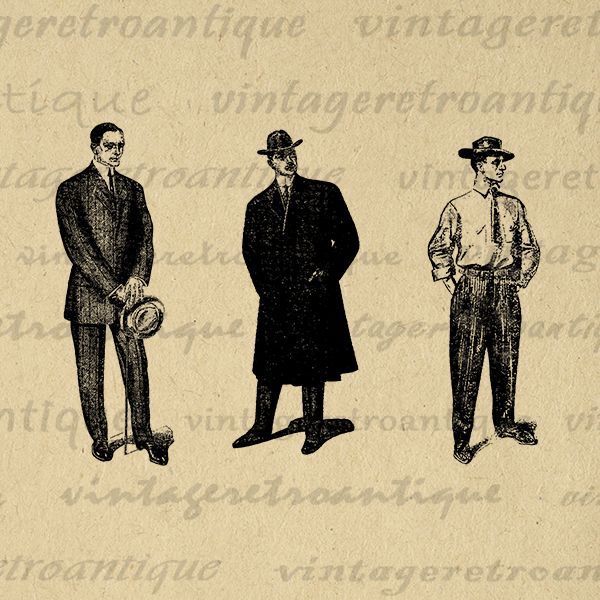 Vintage man clipart png clip art library stock Pin by Noah Kumaczow on Espresso Food Truck Moodboard ... clip art library stock
