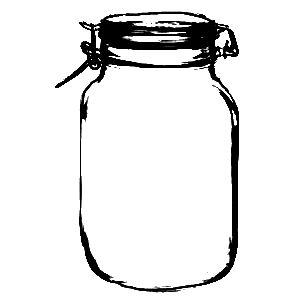Vintage mason jard clipart graphic royalty free download Mason Jar Drawing   Free download best Mason Jar Drawing on ... graphic royalty free download