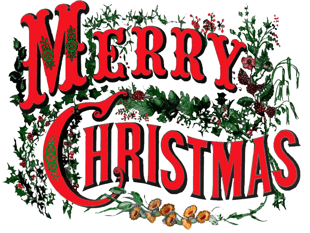 Vintage merry christmas clipart svg transparent stock Merry Christmas Vintage Circus Style transparent PNG - StickPNG svg transparent stock
