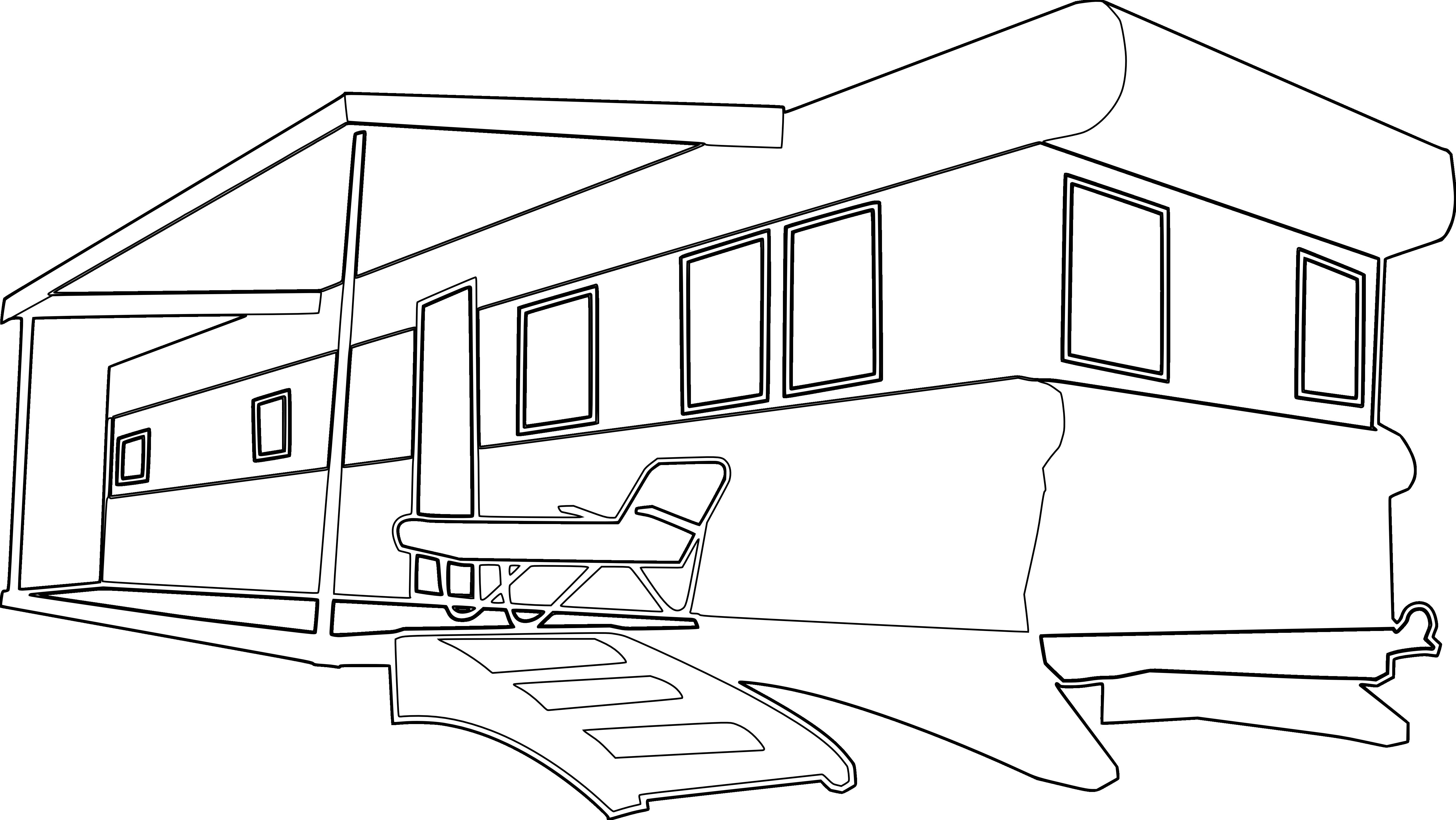Vintage mobile home clipart image freeuse Mobile home Campervan Park Clip art Caravan Campervans ... image freeuse