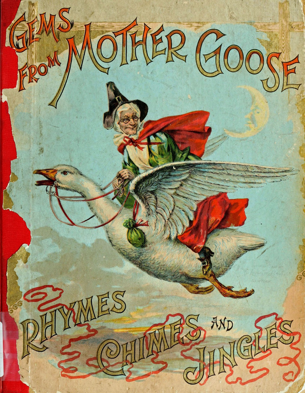 Vintage mother goose clipart png library download 16ab4f3e40d10dd271a6e36f5a075678_-mother-goose-c-1899 ... png library download