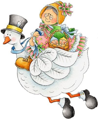 Vintage mother goose clipart graphic royalty free stock Mother Goose | Baby Scrapbook | Kids nursery rhymes, Nursery ... graphic royalty free stock