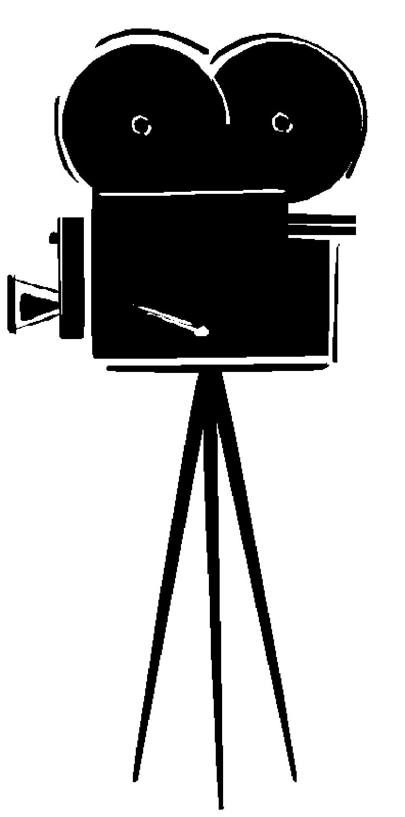 Vintage movie free clipart black and white image freeuse stock Free Movie Camera Clipart, Download Free Clip Art, Free Clip ... image freeuse stock