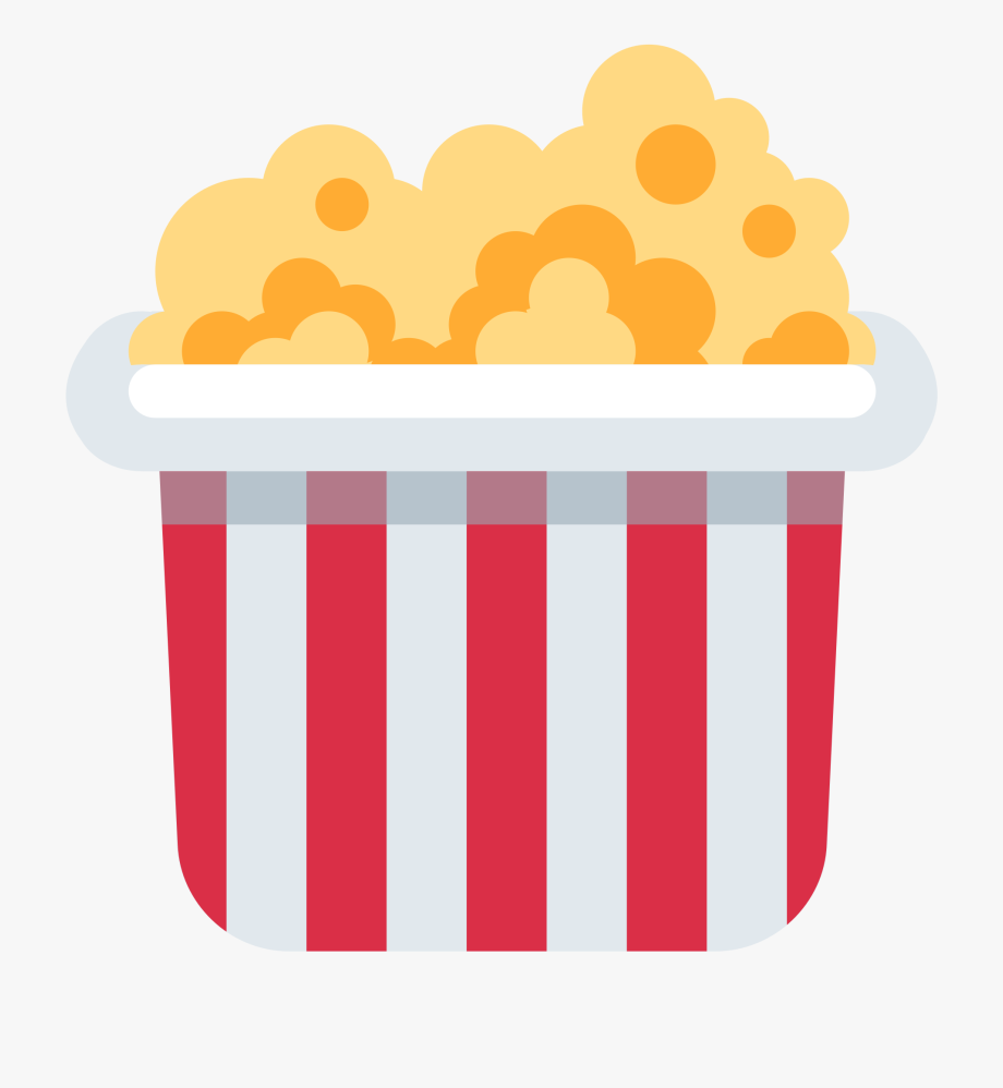 Vintage movie popcorn free clipart jpg black and white library Popcorn - Discord Popcorn Emoji #131106 - Free Cliparts on ... jpg black and white library