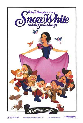 Vintage movie poster clipart jpg royalty free Snow White And The Seven Dwarfs movie posters at movie ... jpg royalty free