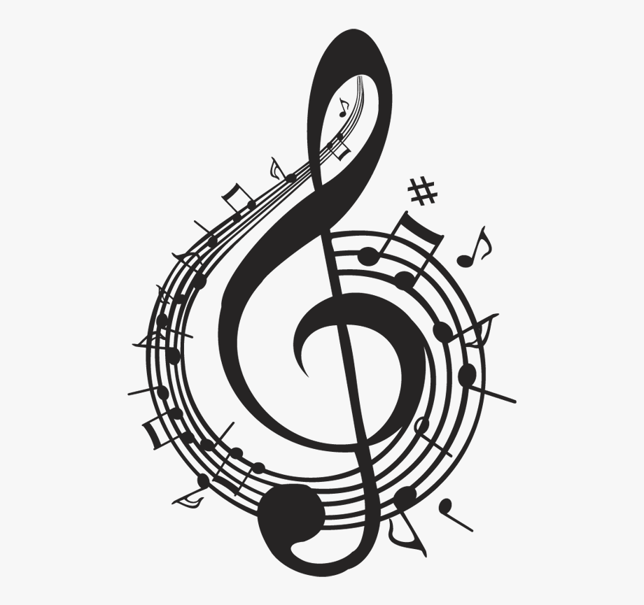 Vintage music note clipart clip library download Wall Mural Music Notes - Nota Musical Vintage Png #670170 ... clip library download