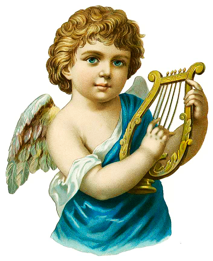 Vintage musical christmas angels clipart picture stock Free Musical Angel Cliparts, Download Free Clip Art, Free ... picture stock